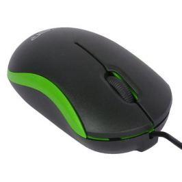 Мышь CBR CM 112 Green, оптика, оптика, 1200dpi, офисн., провод 1.1 метра, USB