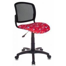 Кресло детское Бюрократ CH-296/ANCHOR-RD спинка сетка черный сиденье красный якоря