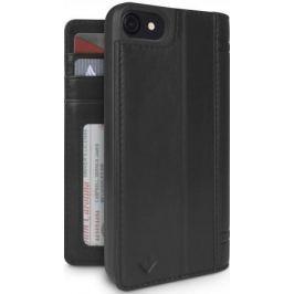 Чехол-книжка Twelve South Journal для iPhone 7. Материал натуральная кожа. Цвет черный.