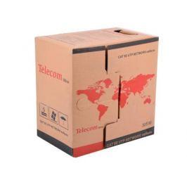 Сетевой кабель бухта 305м UTP 5e Telecom Ultra Light TUS44040E 4 пары, одножильный, 24AWG/0.51мм, омедненный