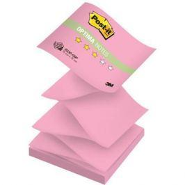Бумага для заметок с липким слоем POST-IT OPTIMA -Осень, 76х76 мм, розовый неон, Z-слож., 100 л. R33