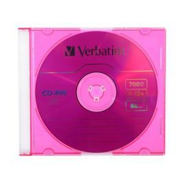 CD-RW Verbatim 700Mb 12x Slim Color