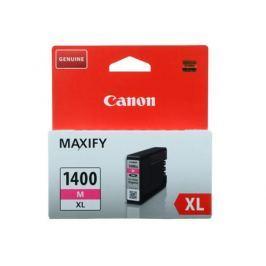 Картридж Canon PGI-1400XL M для MAXIFY МВ2040 и МВ2340. Пурпурный. 780 страниц.