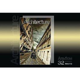 Альбом для рисования Action! АРХИТЕКТУРА, 32 л., вд-лак, 2 дизайна AA-32/5