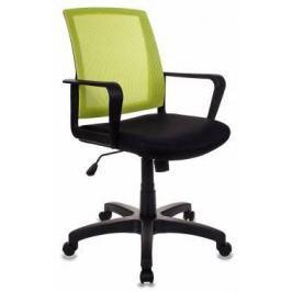 Кресло Бюрократ CH-498/SD/TW-11 спинка сетка салатовый сиденье черный