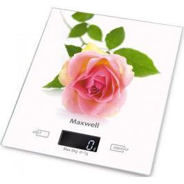 Весы кухонные Maxwell MW-1476(W) белый рисунок