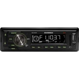 Автомагнитола Soundmax SM-CCR3076F USB MP3 FM SD MMC 1DIN 4x45Вт черный