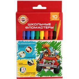 Набор фломастеров Koh-i-Noor ВЕСЕЛЫЕ ЖИВОТНЫЕ 2 мм 12 шт разноцветный 1002/10 KS 1002/10 KS