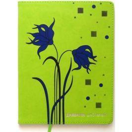 Дневник для старших классов Action! FLOWERS, обл. PU, 48 листов, цвета ассорти