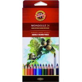 Набор карандашей акварельных Koh-i-Noor MONDELUZ, 24 цв., картонная упаковка с европодвесом