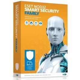 Антивирус ESET NOD32 Smart Security FAMILY - лиц на 1 год или продление на 20 мес 3 устройства