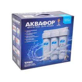 Водоочиститель Аквафор ТРИО для мягкой воды с металлическим кронштейном