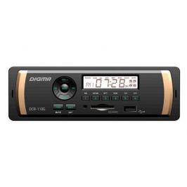 Автомагнитола Digma DCR-110G USB MP3 FM 1DIN 4x45Вт черный