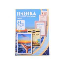 Плёнка для ламинирования Office Kit A4 (PLP11223-1) 216х303 мм, 150 мкм, глянцевая, 100 шт.