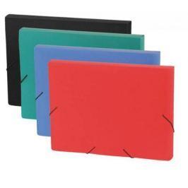 Папка на резинках FOCUS, ф.A4, 30 мм, красный, материал PP, плотность 600 мкр
