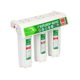 Трехступенчатый фильтр Гейзер Био 341 для очистки воды с повышенным содержанием железа.