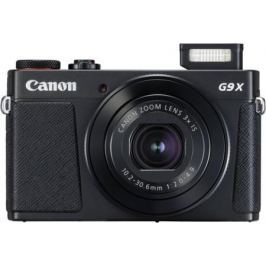 Фотоаппарат Canon PowerShot G9 X Mark II 20.1Mp 3xZoom черный 1717C002