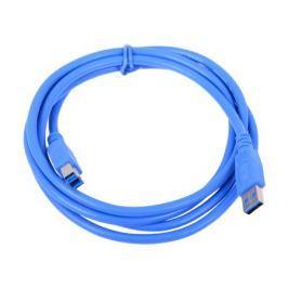 Кабель USB 3.0 Pro Gembird/Cablexpert AM/BM, 1.8м, экран, синий, пакет