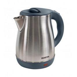 Чайник MARTA MT-1091 серый жемчуг