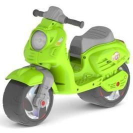 Каталка-мотоцикл беговел RT СКУТЕР цвет зелёный ОР502