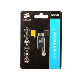 Флешка USB 128Gb Corsair Voyager GO CMFVG-128GB черный