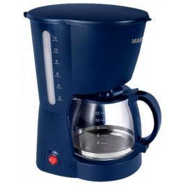 Кофеварка Marta MT-2113 800Вт синий