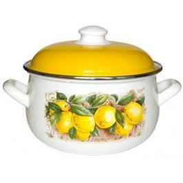 Кастрюля Interos 15842 Лимоны 5,7 л