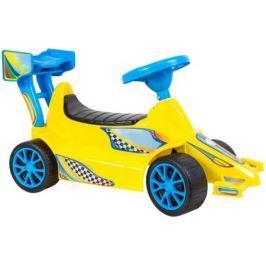 ОР894 Каталка Гоночный Спорткар Super Sport 1 цвет желтый 5310