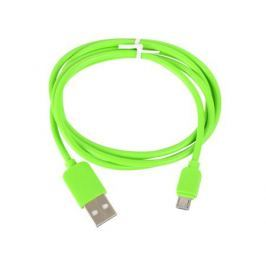 Кабель USB-microUSB Human Friends Super Link Rainbow M Green, 1 м.