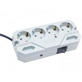 Сетевой фильтр MOST Compact СHV 6 розеток 2 м белый