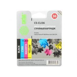 Картридж CACTUS CS-CLI36 для Canon Pixma 260 цветной