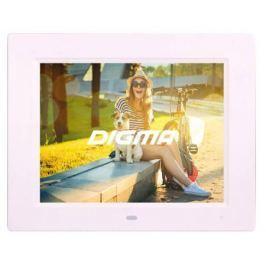 Цифровая фоторамка Digma PF-833 белый 8