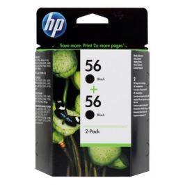 Картридж HP C9502AE (C6656AE в сдвоенной упаковке) черный DJ450C/5550