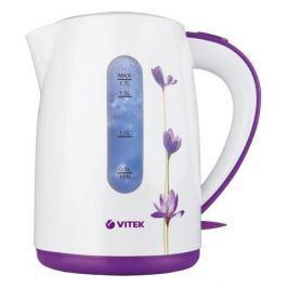 Чайник электрический VITEK VT-7011 (W) 1800-2200 Вт. Максимальный объем 1,7 л. Корпус из термостойкого пластика.