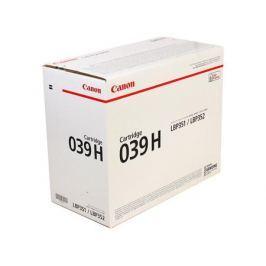 Картридж Canon 039 H для принтеров i-SENSYS LBP351x/352x. Чёрный. 25 000 страниц.