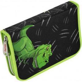 Пенал Hama Dino черный/зеленый 139124