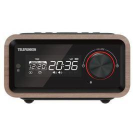 Часы с радиоприемником TF-1582UB(темное дерево)