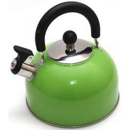 Чайник Катунь KT 105 Z 2.5 л нержавеющая сталь зелёный