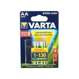 Аккумуляторы 2100 mAh Varta R2U AA 2 шт