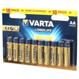 Батарейки Varta Longlife AA 12 шт