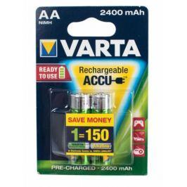 Аккумуляторы 2400 mAh Varta R2U AA 2 шт