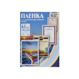 Плёнка для ламинирования Office Kit А3 (PLP10330) 303х426 мм, 80 мкм, глянцевая,100 шт.