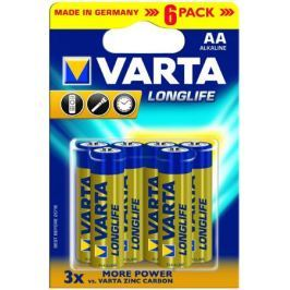 Батарейки AA Varta Long Life 6 шт