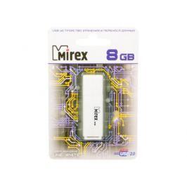 USB флешка Mirex Line 8GB White (13600-FMULWH08) USB 2.0 / 18 Мб/сек / 7 Мб/сек