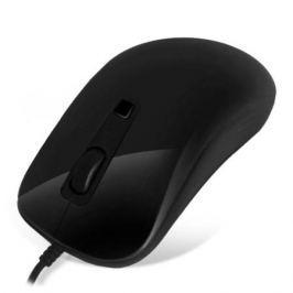 Мышь проводная Crown CMM-20 чёрный USB