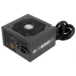 Блок питания Cooler Master 650W G650M (RS650-AMAAB1-EU) v.2.3, A.PFS, 80 Plus Bronze, Fan 12 cm, Modular, Retail