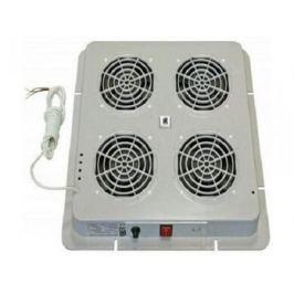 Вентиляторный модуль Estap M35HV4FTG 4 вентилятора термостат для шкафов EuroLine и EcoLine серый