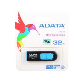 Флешка USB 32Gb A-Data UV128 USB3.0 AUV128-32G-RBE черный/синий