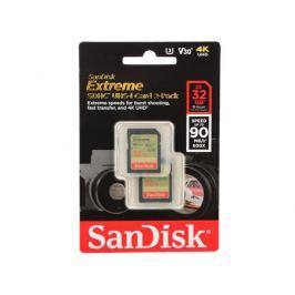 Карта памяти Micro SDHC 32Gb Class 10 Sandisk SDSDXVE-032G-GNCI2 2шт