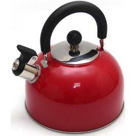 Чайник Катунь KT 105 K 2.5 л нержавеющая сталь красный